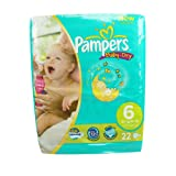 Pampers Baby-Dry Nappies Size 6 (Extra Large) x 22 Nappies