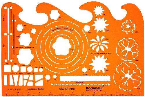 150-Schablone-Zeichenschablone-Gartenplanung-Gartengestaltung-Gartendesigns-Architekt-Garten-Gartenplne-Gestalten-Planen-Technisches-Zeichnen