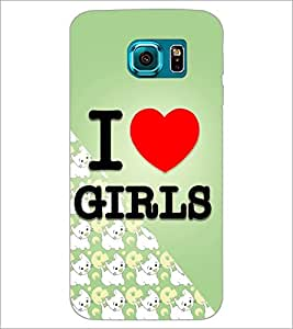 PrintDhaba Quote D-4346 Back Case Cover for SAMSUNG GALAXY S6 (Multi-Coloured)