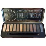 w7 Lightly toasted - Make up palette mit 12 pigmentierten leuchtenden lidschatten, 1er Pack (1 x 141 g)
