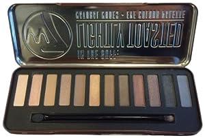 w7 Lightly Toasted Palette Maquillage de 12 Ombres à Paupières Pigmentées et Lumineuses 15,6 g