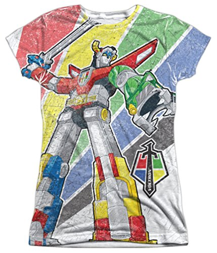Sublimation: Junior Fit - Mighty Robot Voltron T-Shirt