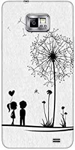 Snoogg Dandelions Child Love Solid Snap On - Back Cover All Around Protection...