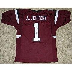 Autographed Alshon Jeffery Jersey - #1 Mm - Autographed College Jerseys