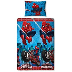 Character World Ultimate Spiderman City Completo Letto