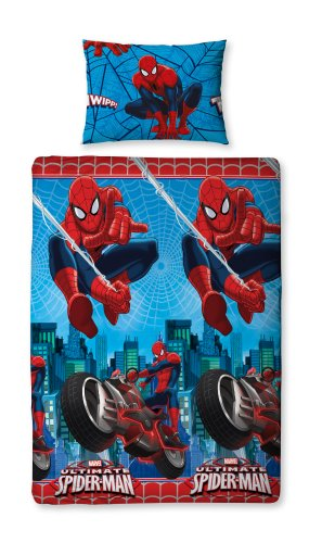 Disney spiderman tenda con passanti cameretta in voile 110 l x 267 ...