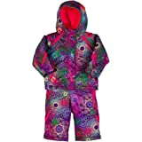 Columbia Buga Snow Suit Set - Toddler Girls' Multi Spiro Print, 2T