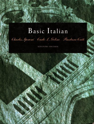 Basic Italian (Book Only)