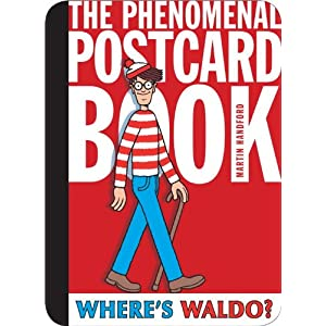Where\'s Waldo - The phenomenal postcard book par Martin Handford