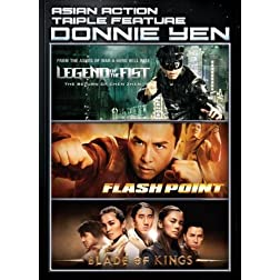 ASIAN ACTION TRIPLE FEATURE: Donnie Yen