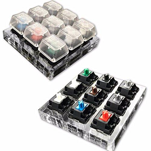 mway-9-x-cherry-mx-switches-9-x-cherry-acrylic-keyboard-tester-kit-clear-keycaps-sampler
