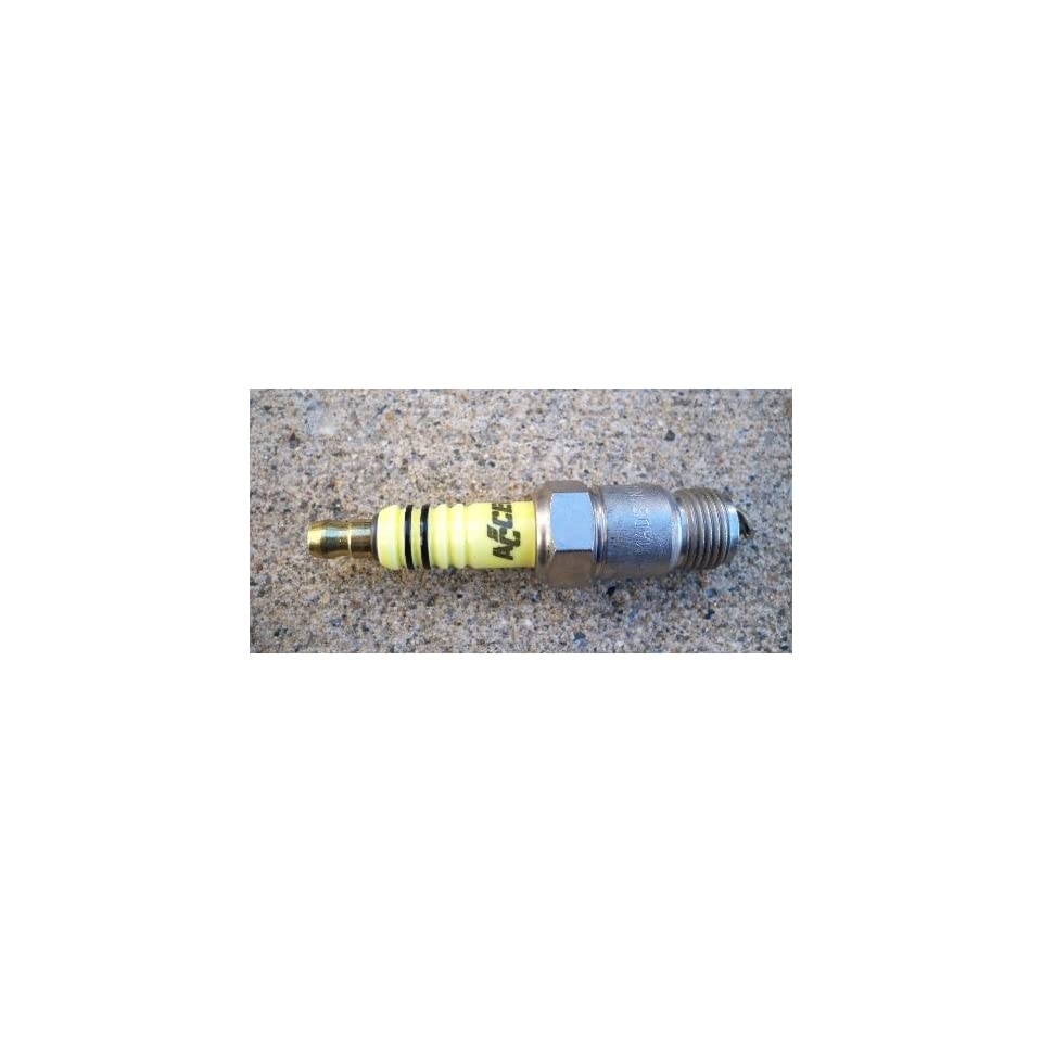 Accel Performance Resistor Spark Plug 8184 576 One on PopScreen