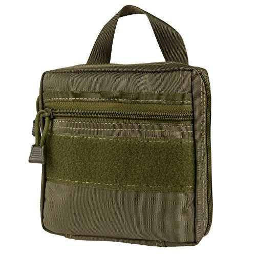 Medical Pouch - Compact Water-Resistant 1006D Molle Tactical EDC Utility EMT First Aid Bags (Green)