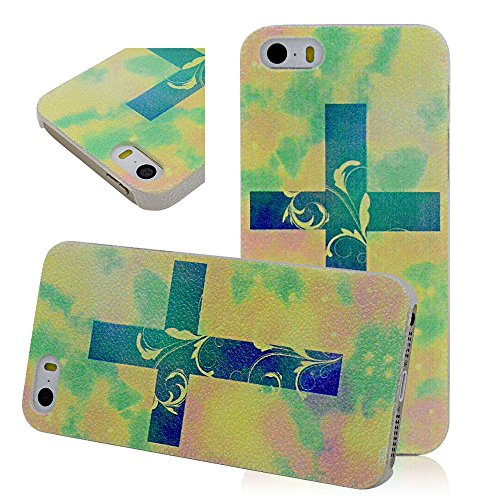 Seedan Colorful Halo Painted Matte Case For Iphone 5 5G 5S Pc Hard Anti-Skid Cover Skin Protector Shell