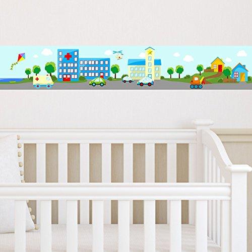 Kinderbord re kleine stadt 3 teilig autos fahrzeuge h user for Kinderzimmer fahrzeuge