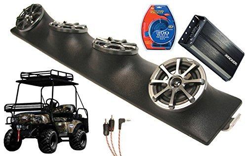 Bad-Boy-Buggy-UTV-Kicker-KS525-PXA3004-4CH-Control-Amp-Quad-5-14-Speakers