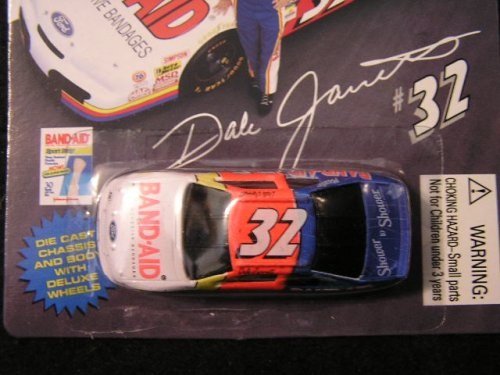 Dale Jarrett Band-Aid Collector's Edition Racing Stock Car - 1
