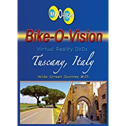 Bike-O-Vision Cycling Journey- Tuscany, Italy (#25 BluRay) [Blu-ray]