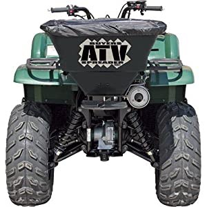 Buyers ATVS100 100-Pound 12 Volt Electric ATV Broadcast Spreader With Rain Cover