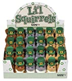 Ganz Lil Super Soft Squirrel Plush - St Patricks Day Squirrel Plush