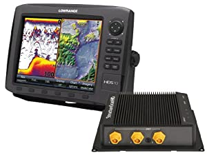 Lowrance HDS-10 GEN2 Plotter Sounder, with 10.4-inch LCD, Insight USA Cartography, LSS-2 StructureScan, and Two Transducers. by Lowrance