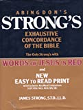 Abingdon's Strong's Exhaustive Concordance of the Bible (0687400333) by Strong, James