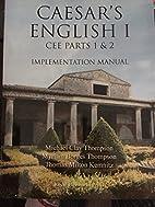 Caesar's English 1: CEE Parts 1 & 2 Manual…