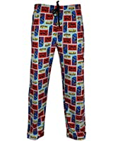 Mens Dr Who Lounge Pants | Doctor Who PJ Bottoms | From Small to X-Large