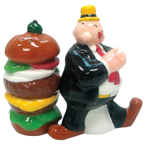 wimpy-and-hamburger-salt-pepper-shaker-set