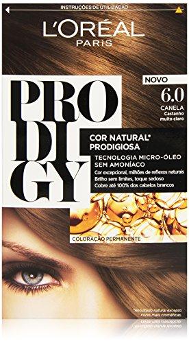 L'Oreal Tintura per Capelli, Prodigy Coloración Permanente, 200 gr, 6-Roble
