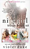 Nice Girl to Love: Trilogy Boxed Set (#1 Resisting, #2 Falling, #3 Choosing) (CAN'T RESIST) (English Edition)