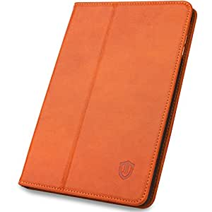 SHIELDON 本革ケース iPad mini 3 iPad mini 2 iPad mini Retina用 オートスリープ スタンド機能付き マグネット式 レトロブラウン