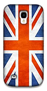 The Racoon Grip BRITISH FLAG hard plastic printed back case / cover for Samsung Galaxy S4 Mini