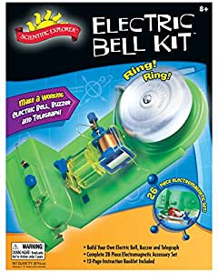 Slinky Science Electric Bell-Buzzer-Telegraph Kit