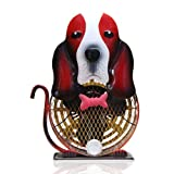 Himalayan Breeze Medium Decorative Basset Hound Fan