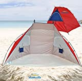 Super - Wide Beach Cabana / Sun Shelter - UPF 100