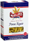 Mueller's Penne Rigate, 16-Ounce Boxes (Pack of 12)