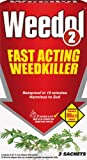 Weedol 2 Fast Acting Weed Killer - 3 Sachets
