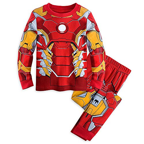 Disney Store Iron Man Costume PJ Pajamas Marvel's Avengers Size Medium M 7