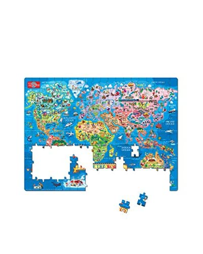 T.S. Shure Map of the World 200-Piece Jigsaw Puzzle