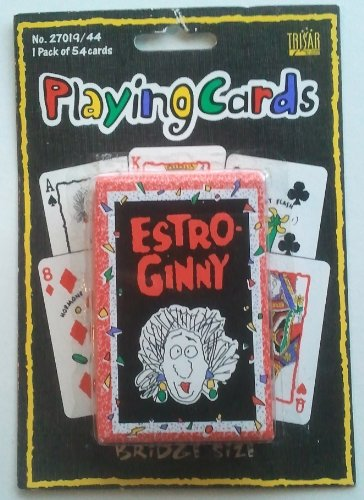 Estro Ginny Playing Cards - 1