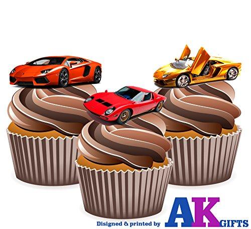 lamborghini-sport-auto-mix-kuchen-dekorationen-12-esspapier-cup-cake-topper