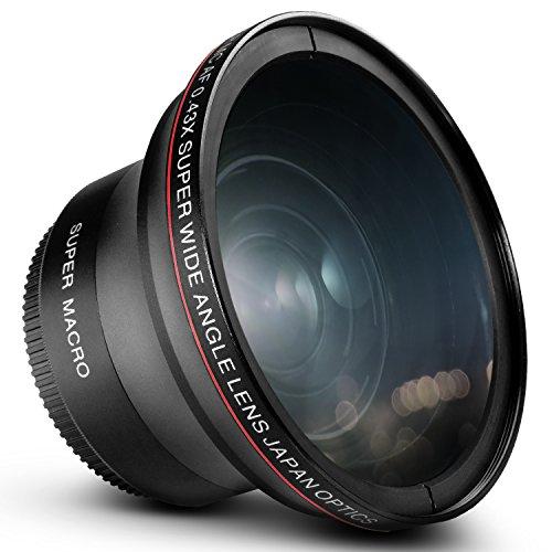 52MM 0.43x Altura Photo Professional HD Wide Angle Lens (w/ Macro Portion) for NIKON D5300 D5200 D5100 D3300 D3200 D3100 D3000 DSLR Cameras (Nikon Super Wide Angle Lens compare prices)