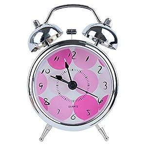 Amazon Com Alarm Clock Quartz Analog Twin Bell For