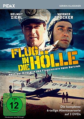 Flug in die Hölle / Die komplette 6-teilige Abenteuerserie (Pidax Historien-Klassiker) [3 DVDs]
