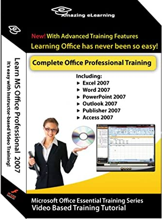 Microsoft Office 2007 Excel, Word, PowerPoint, Outlook, Publisher, Access & Accounting - 7 Training Courses