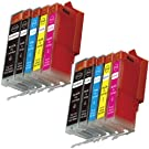 Shop At 247 Compatible Ink Cartridge Replacement for Canon PGI-250XL + CLI-251XL High Yield