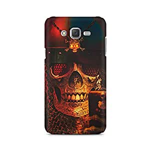 Mobicture Skull Abstract Premium Printed Case For Samsung J1 2016 Version
