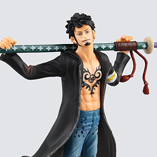Marry-R One Piece Action Figure Trafalgar D Water Law Sword PVC Doll Japanese Anime Model Toy 19cm (Power Machinery Water compare prices)