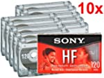 Sony 10C120HFL 120-Minute HF Cassette...